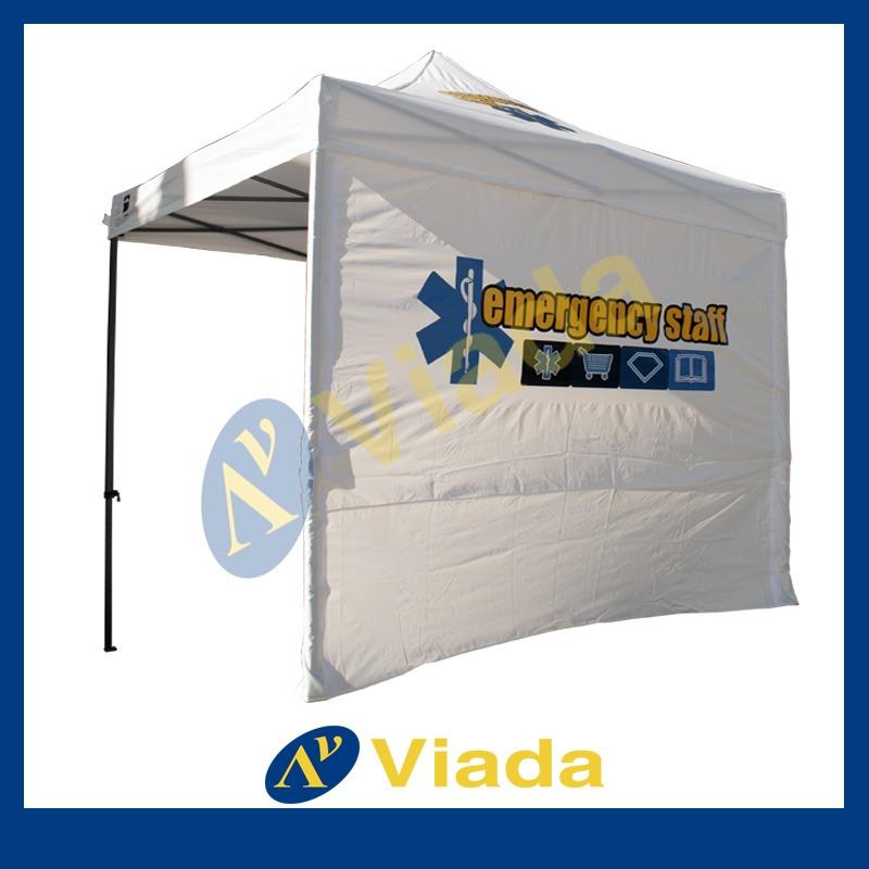 Carpa plegable personalizada para emergencias médicas