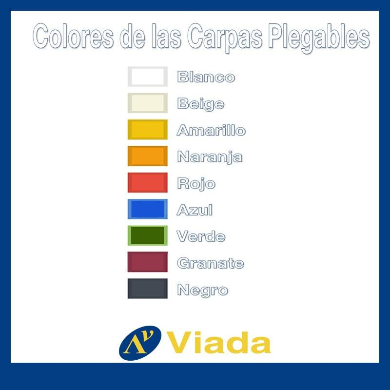 colores para carpas plegables Viada
