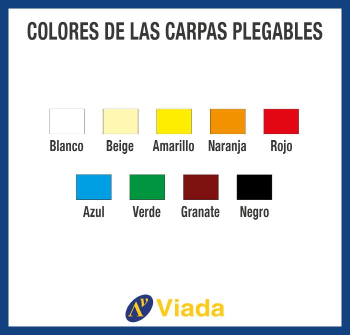 Colores Carpas Personalizadas