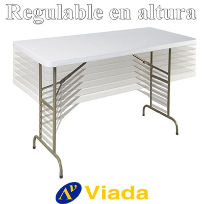 mesa regulable en altura