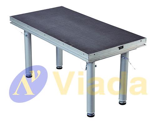 modulo de escenario de acero modular rectangular