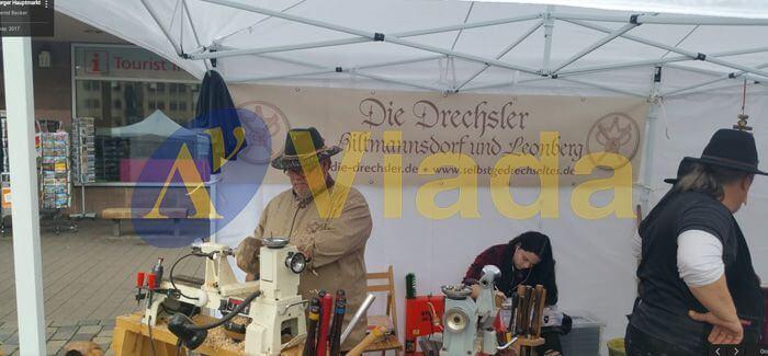 carpas plegables para eventos y ferias en Nuremberg