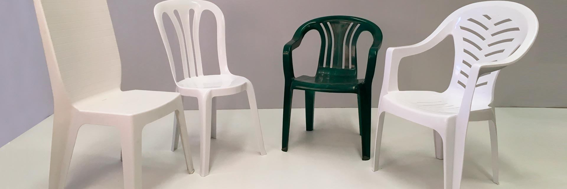 sillas de resina
