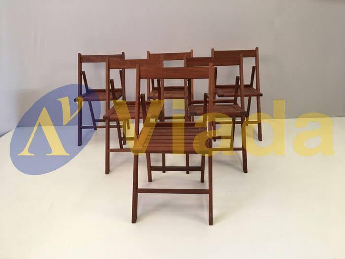 Mesas y sillas plegables resistentes