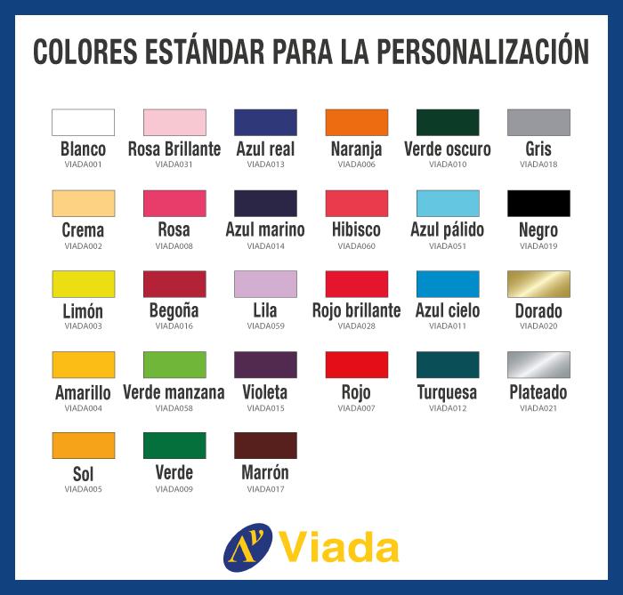 Plantilla Colores Carpas Personalizadas
