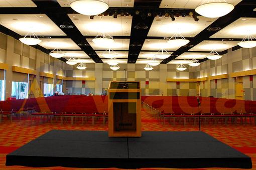 Escenario Tarima para Conferencias