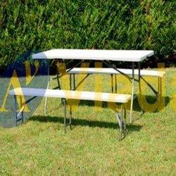 ¿Mesas plegables para camping o para uso público?