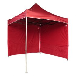 Carpa roja plegable